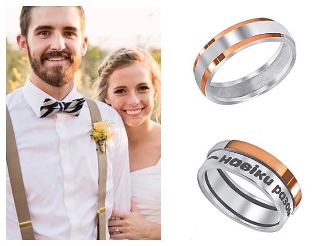 Мужские широкие обручальные кольца в стиле