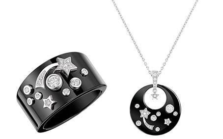 Ювелирные изделия с керамикой и бриллиантами