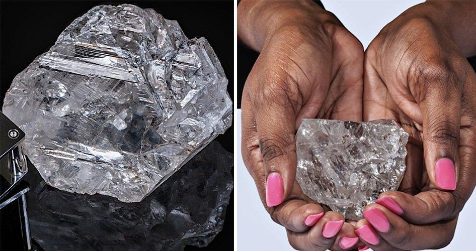 Самый большой алмаз найденый за последние лет