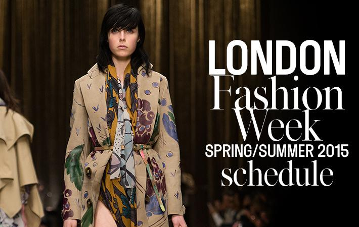 London Fasion Week 2015