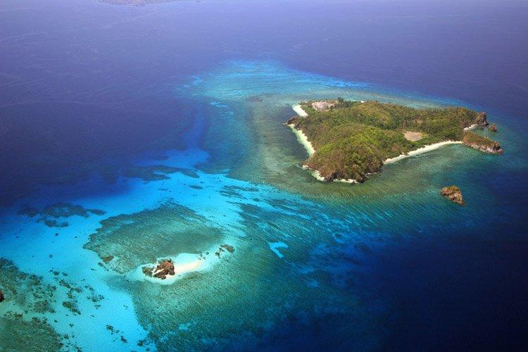 Остров Палаван в филлипинском море