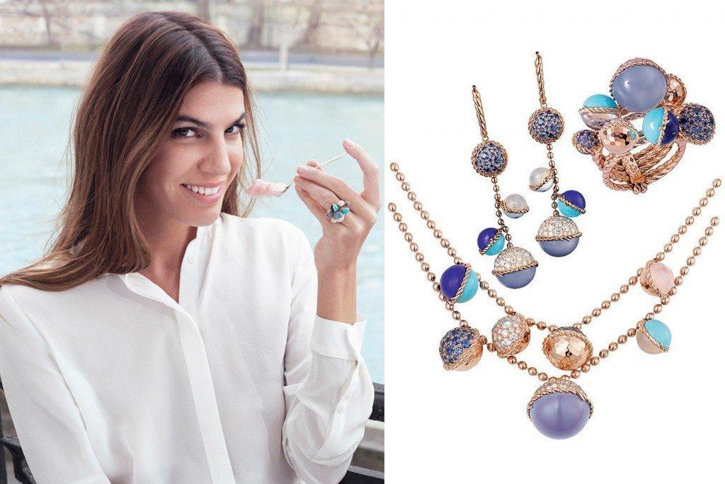 Бьянка Брандолини в стильных украшениях от Cartier