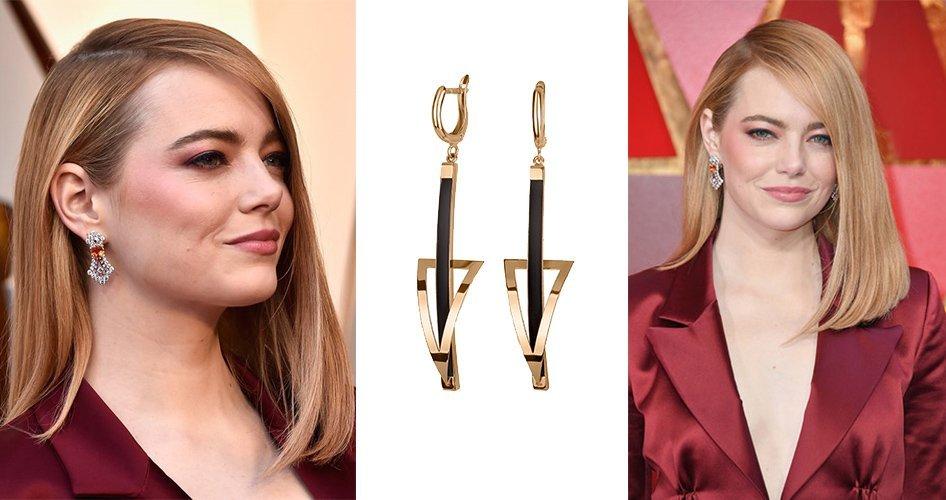Эмма Стоун на церемонии Оскар