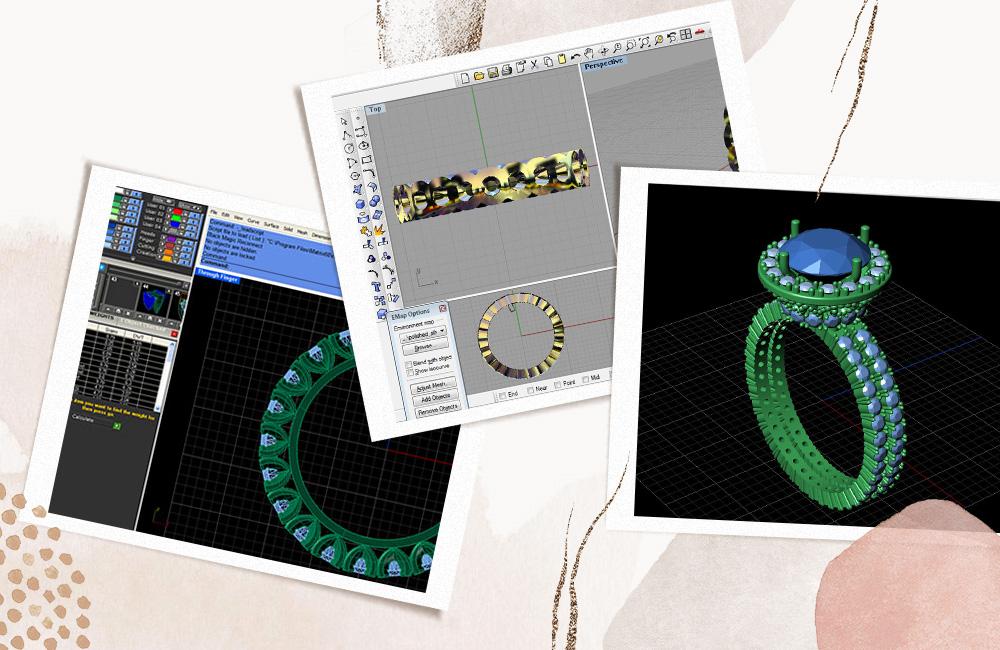 3d модель обручального кольца