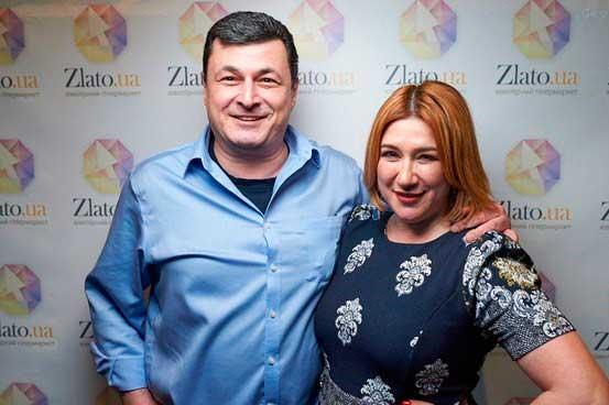 Маргарита Сичкарь и Александр Квиташвили