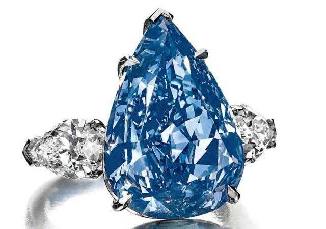 Самый дорогой голубой бриллиант в мире