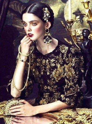 Образ в стиле барокко
