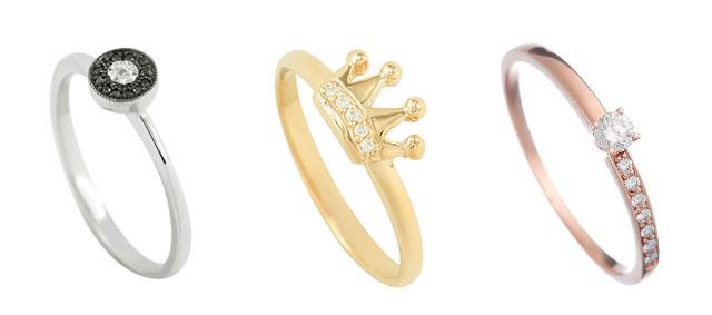 Кольца на помолвку из золота