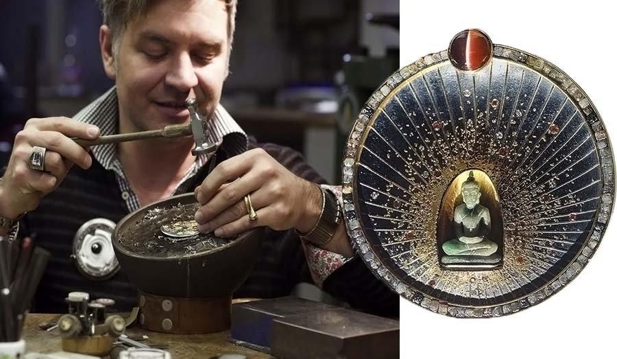 Украшение с изображением Будды