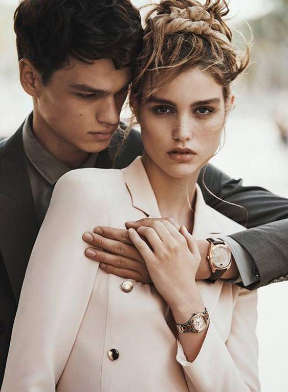 Часы для пары Emporio Armani