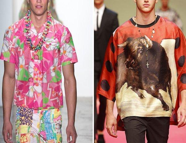 Модные кольце и подвесы в современном мужском образе