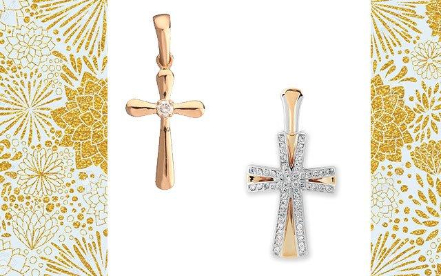 Крестики из золота