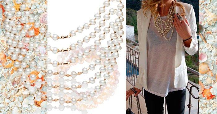 женские бусы ожерелья с жемчугом купить женские бусы и