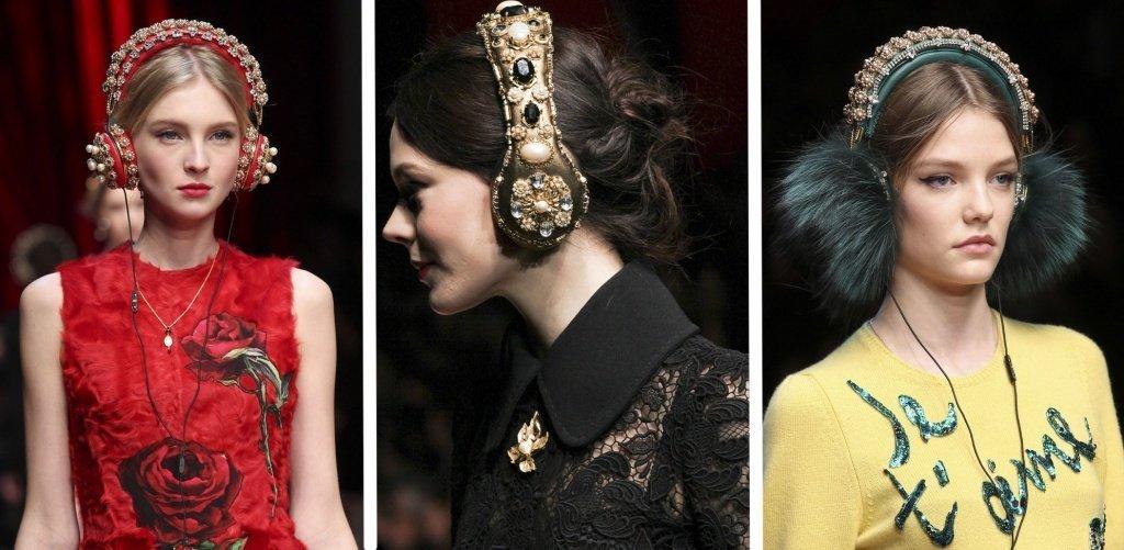 Dolce & Gabbana модный показ осень/зима 2015-2016