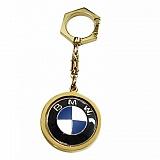 Золотой брелок BMW с ювелирной эмалью