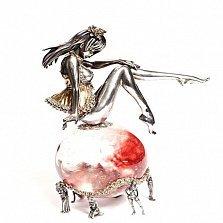 Серебряная статуэтка Адель