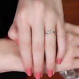 Кольцо из белого золота Диадора с бриллиантами