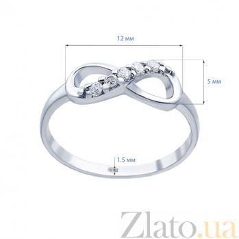 Серебряное кольцо Бесконечность  AQA--215570001