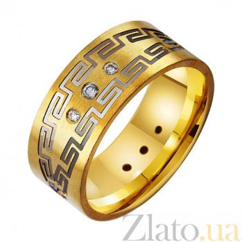 Золотое обручальное кольцо Бесконечная история TRF--432665