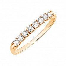 Золотое кольцо с бриллиантами Джиннайн