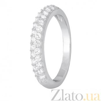 Серебряное кольцо с цирконием Констанца SLX--КК2Ф/325