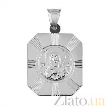Серебряная ладанка Семистрельная 000018873