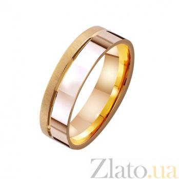 Золотое обручальное кольцо Супружеская любовь TRF--4111353