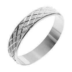 Серебряное обручальное кольцо 000039514