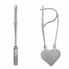 Серебряные серьги Lovely