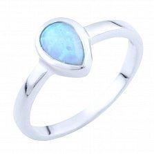 Серебряное кольцо Лаванья с опалом