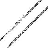 Серебряная цепь с чернением Фредерик