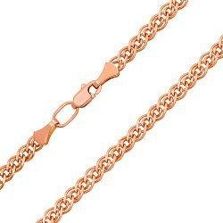 Золотая цепь в красном цвете 000104287