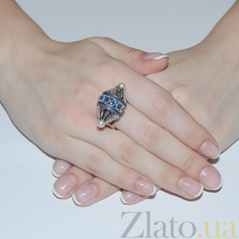 Серебряное кольцо TNG--330895С