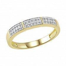 Золотое кольцо Антония с бриллиантами
