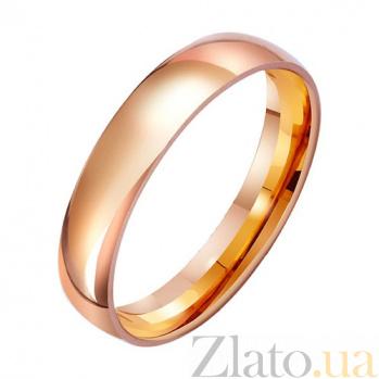 Обручальное кольцо из красного золота Верность традициям TRF--4111211