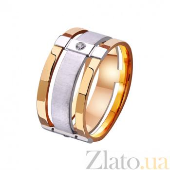Золотое обручальное кольцо Комплимент в комбинированном цвете металла TRF--4421148