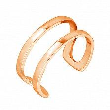 Серебряное кольцо на фалангу New Look в позолоте