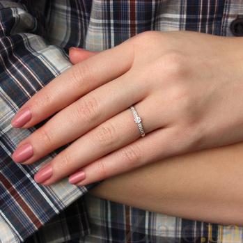 Кольцо из белого золота с бриллиантами Арина 000021463