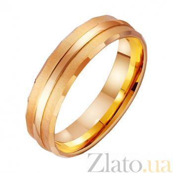 Золотое обручальное кольцо Прикосновения TRF--4111303