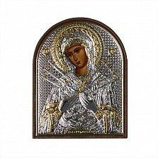 Икона Богородица Семистрельная, 58х75мм