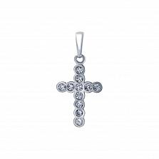 Серебряный крестик Финема