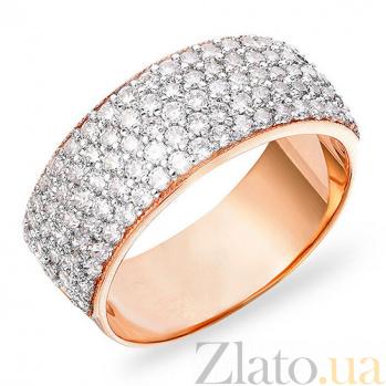 Кольцо из золота с фианитами Ослепительный блеск SUF--140293