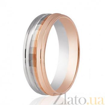 Золотое обручальное кольцо Семейное счастье 000001668