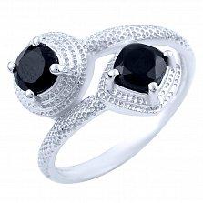 Серебряное кольцо Шаиста с ониксом