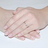 Кольцо Единственная с бриллиантом