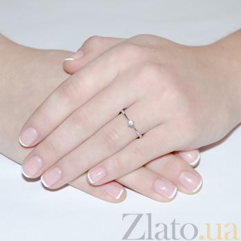 Кольцо Единственная с бриллиантом R0462