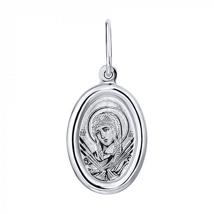 Серебряная ладанка икона Божией Матери Семистрельная 000122978 000122978