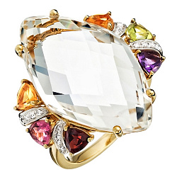 Золотое кольцо Multi Color