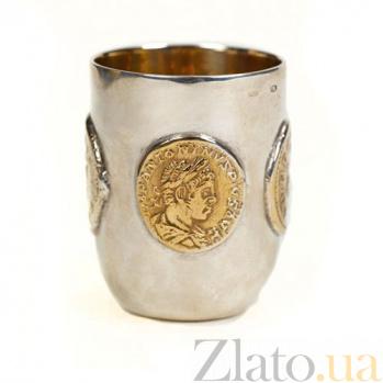 Серебряная стопка Римская 370