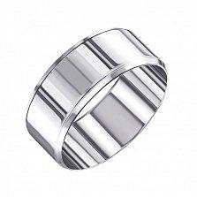 Обручальное серебряное кольцо 000133406